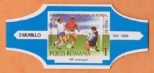 1990 World Cup Cigar Band (Blue)